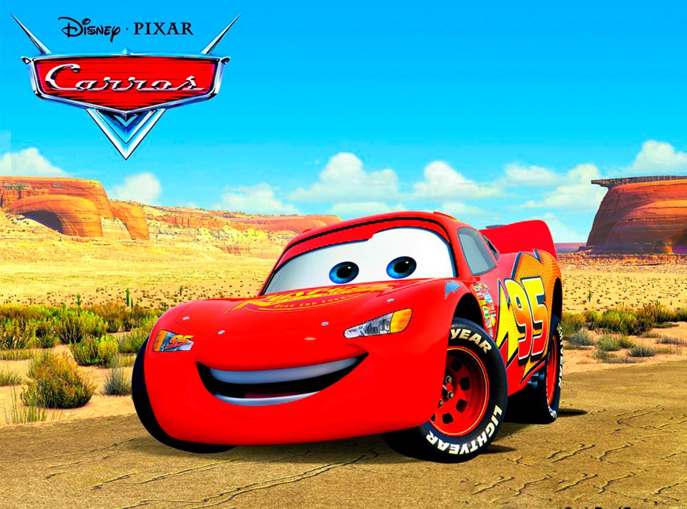 Papel Arroz Carros Disney